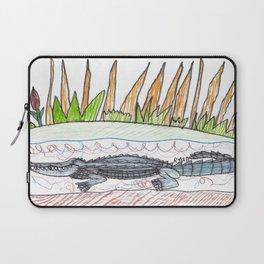 Alligator Swamp Laptop Sleeve