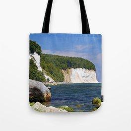 Chalk coast, Ruegen in Germany Tote Bag
