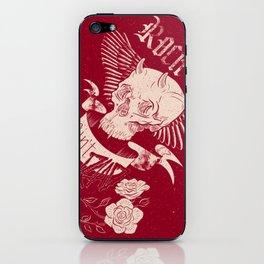 Rock 'n' Roll RED iPhone Skin