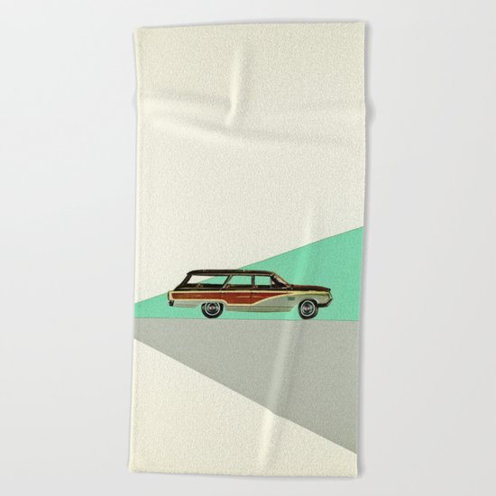 Drive Beach Towel