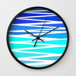 Relaxing Waves Wall Clock
