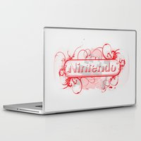 nintendo Laptop & iPad Skins featuring Urban Nintendo by Donkey Inferno