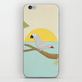 African Grey Parrot iPhone Skin