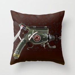 Raygun Throw Pillow