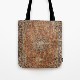 Antique Persian Rug Tote Bag