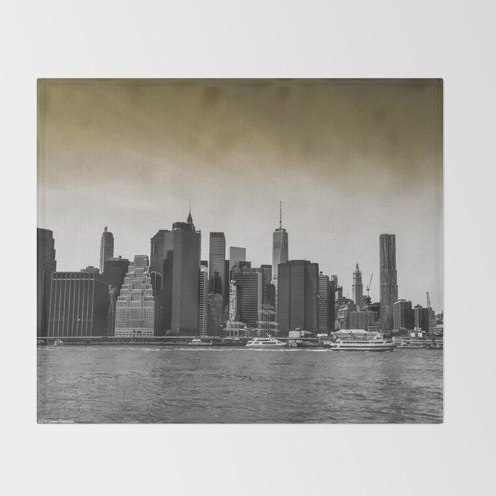 Manhattan Throw Blanket