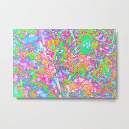 Floral Pop of Color Metal Print
