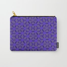 Ultraviolet Petals IV Carry-All Pouch