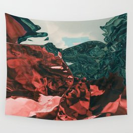 Color of the day is red Wall Tapestry