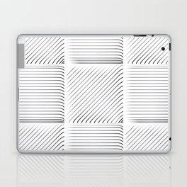 Diagonal Stripes Background 14 Laptop & iPad Skin