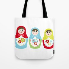 Matrioshka Dolls - Trio Tote Bag