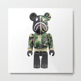 Bape Robot Metal Print