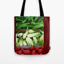 Graphic vegetables Tote Bag