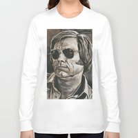 phil jones Long Sleeve T-shirts featuring Jones by Buddy Owens Paintings
