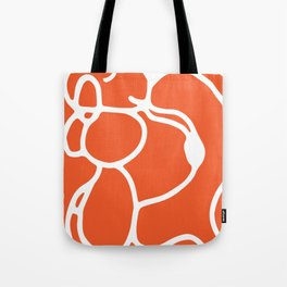 Orange Dog Tote Bag