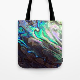 Pearlescent Abalone Shell Tote Bag