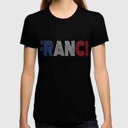 France Flag Vintage Frence Retro Gift T-shirt