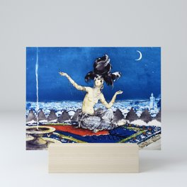 12,000pixel-500dpi - Louis Icart - Hunting - Scheherazade - Digital Remastered Edition Mini Art Print