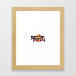 dragonball vs fighter z Framed Art Print