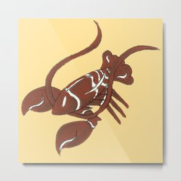 New England Gingerbread Metal Print