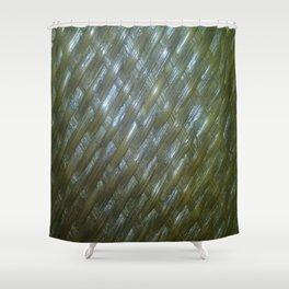 Shiny Weaving Shower Curtain
