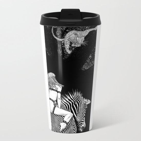 asc 705 - La cavalière Mang (Do you see what I see?) Metal Travel Mug