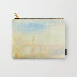 """J.M.W. Turner """"The Moselle Bridge, Coblenz"""" Carry-All Pouch"""