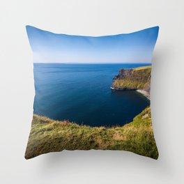 Cliffs of Moher, Ireland Throw Pillow