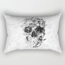 New Skull Light B&W Rectangular Pillow