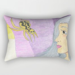 Spider Woman Rectangular Pillow