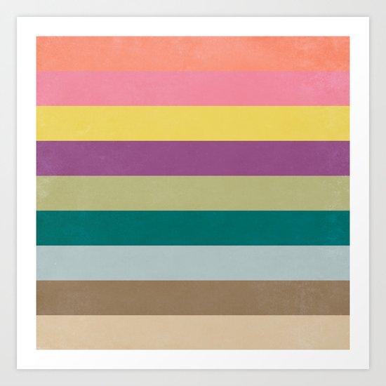 Of Autumns Past / Rainbow Art Print