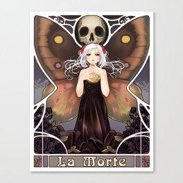 La Morte Canvas Print