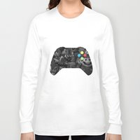 video game Long Sleeve T-shirts featuring Video Game by Thomas Official