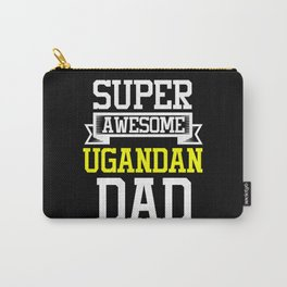 Super Awesome Ugandan Dad Country Pride Carry-All Pouch
