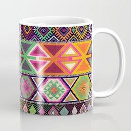Aztec Artisan Tribal Bright Coffee Mug
