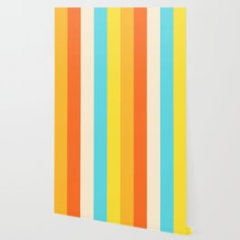Summer Stripes Wallpaper
