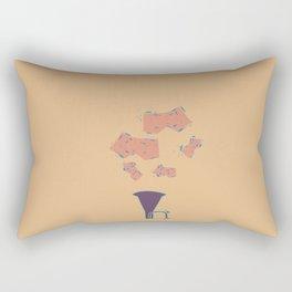 Salt Peanuts Rectangular Pillow
