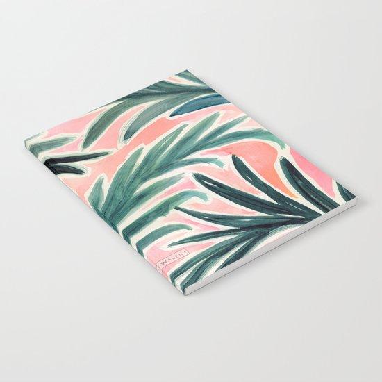 Lush Tropical Palm Notebook