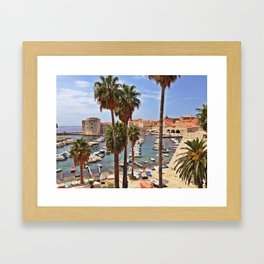 Old City, Dubrovnik, Croatia Framed Art Print