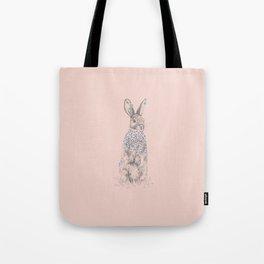 Blossom Bunny Tote Bag