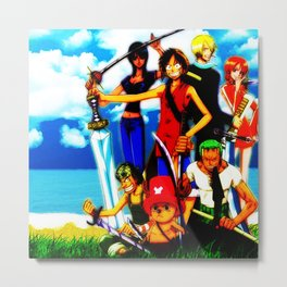 one piece cute Metal Print