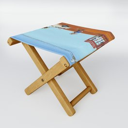 The Out of Service Phone Box Folding Stool