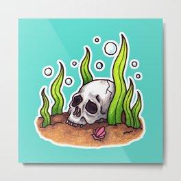 Watery Grave Metal Print