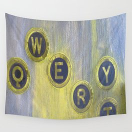 Qwerty Age Wall Tapestry
