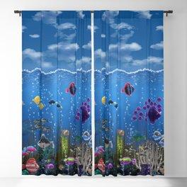 Underwater Love Blackout Curtain