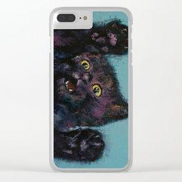 Ninja Kitten Clear iPhone Case