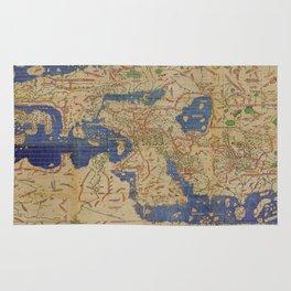 World Map 1154 Rug