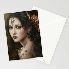 Golden Rose Stationery Cards
