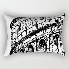 Colosseum, Rome Rectangular Pillow