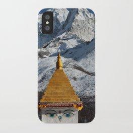 Himalaya - Stupa iPhone Case